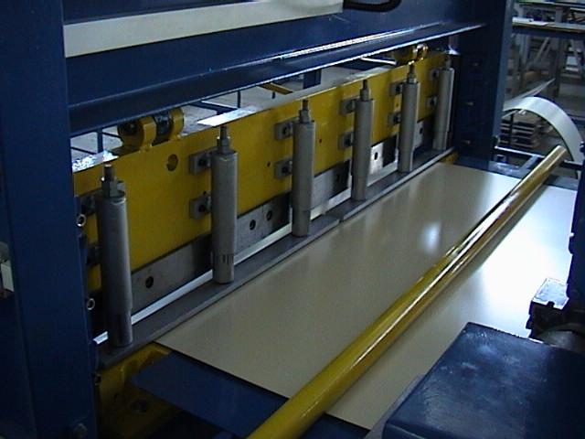 гильотина оборудования поперечной резки металла