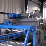 процесса разреза металлочерепицы