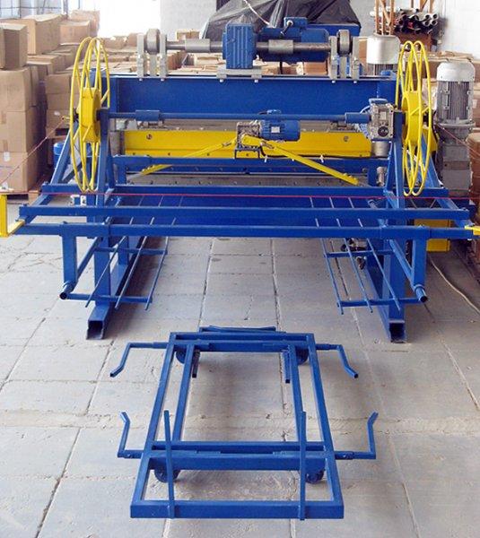 приёмный стол для продольно-поперечной резки металла